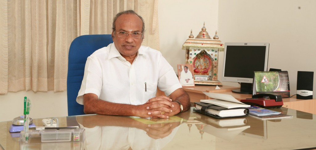 Dr.P.Selvaraj, Chairman, Selvam Group of Institutions