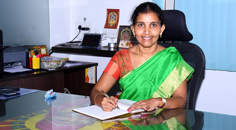 Dr.B.Kaviethra Nandhini., B.E, MBA, MS(Edu), Ph.D