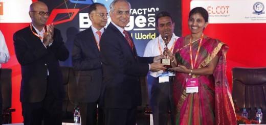 "Our Conscientious Secretary Dr.B. Kaviethra Nandhini awarded ""Best Women Edupreneur-2015″."