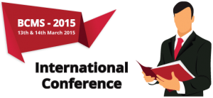 International Conference on Advances in BCMS-2015