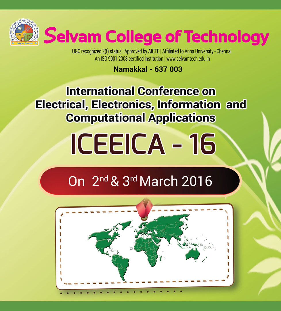 International Conference on Electrical, Electronics, Information and Computational Applications. 1