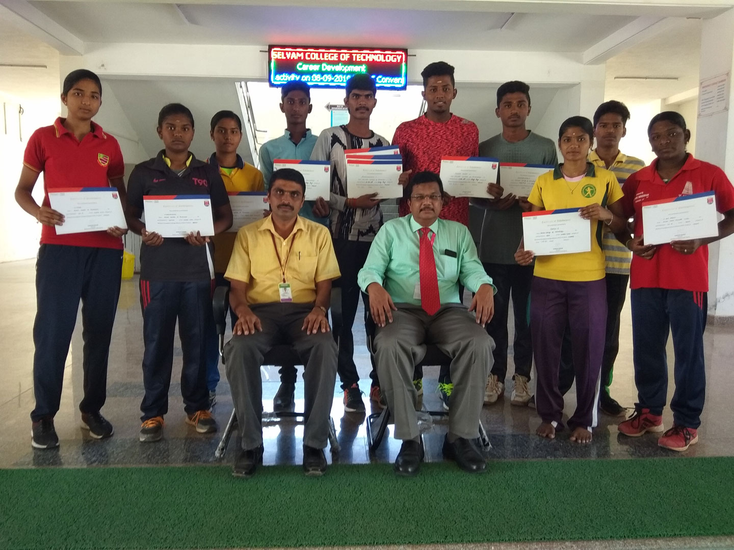 Reliance Foundation Athletics state competition medal winners. 1