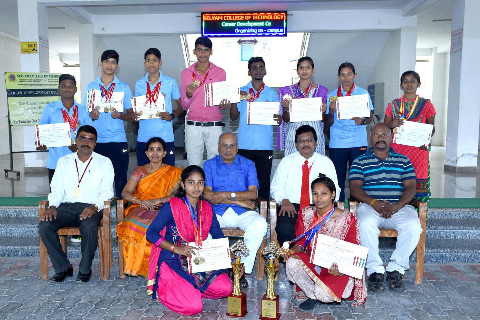Anna University Fencing Men & Women Winners 1