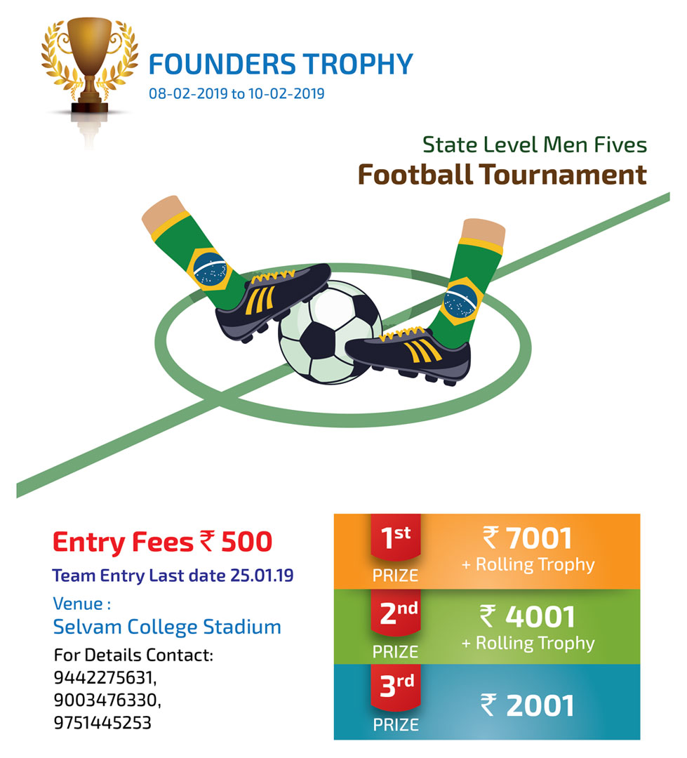5th State Level Men Fives Football Tournament. 1
