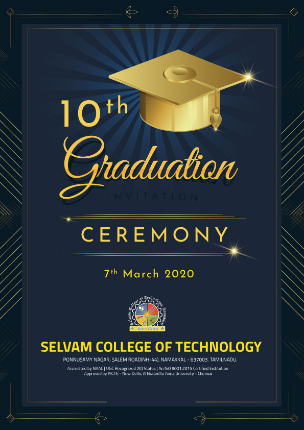 10th Graduation Ceremony. 2