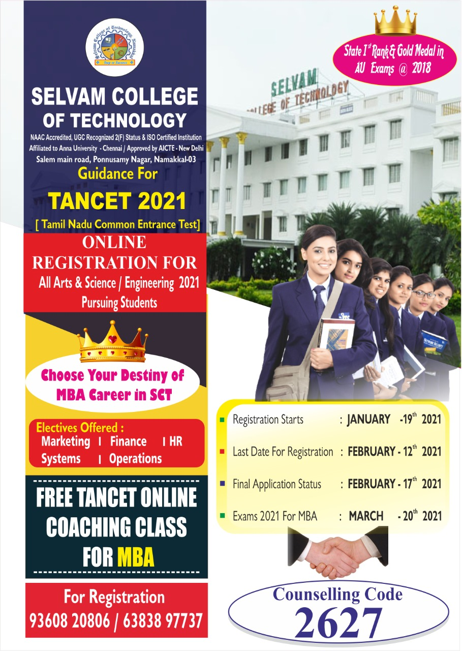 Guidance for TANCET 2021 1