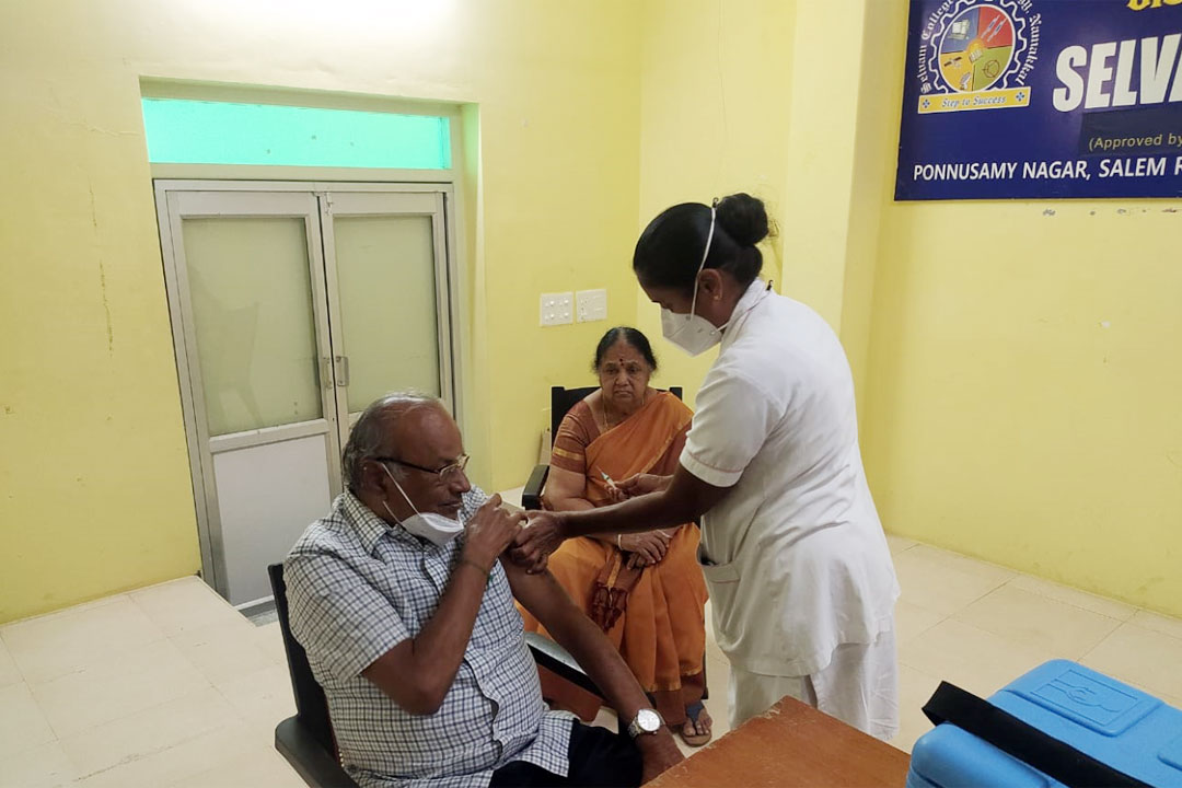 Special Covid Vaccination Camp (1st Dose) 1